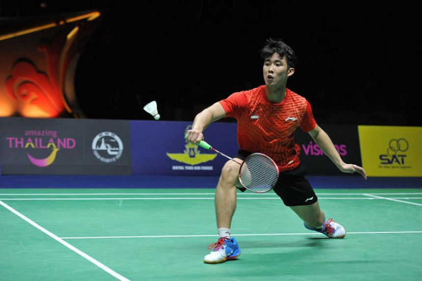 Singapore's Loh Kean Yew stunned two-time Olympic champion Lin Dan 21-19, 21-18 to claim his first Badminton World Federation World Tour title on Jan 13, 2019.