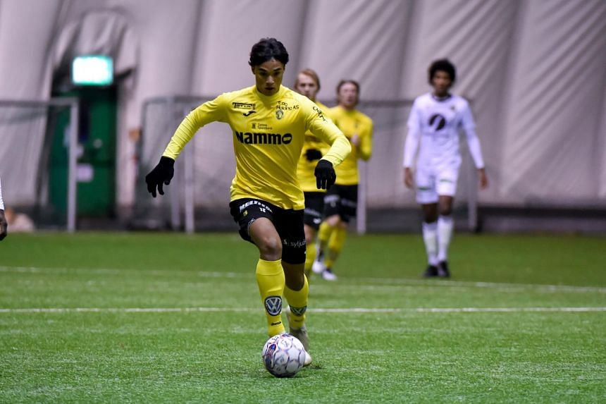 Ikhsan Fandi signs a two-year deal with Norway second-tier club Raufoss IL to become first Lion in 30 years to join a European team, and the third after his father Fandi Ahmad and V. Sundram Moorthy.