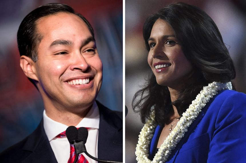 Mr Julian Castro would become the most high-profile Democrat to date to officially enter the 2020 presidential race, which is expected to see a diverse field of candidates including Ms Tulsi Gabbard, who is the first Hindu member of Congress and also