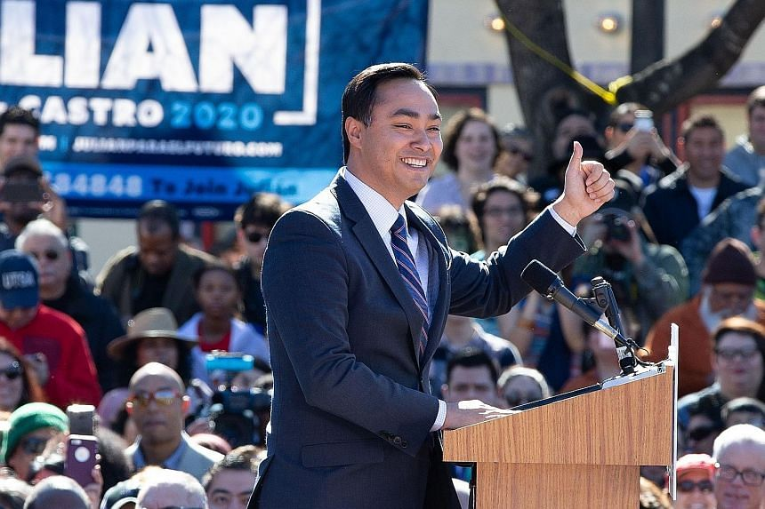 Mr Julian Castro, often called a rising star in the Democratic Party, is the third candidate with a Latino background to seek the presidency in recent years.