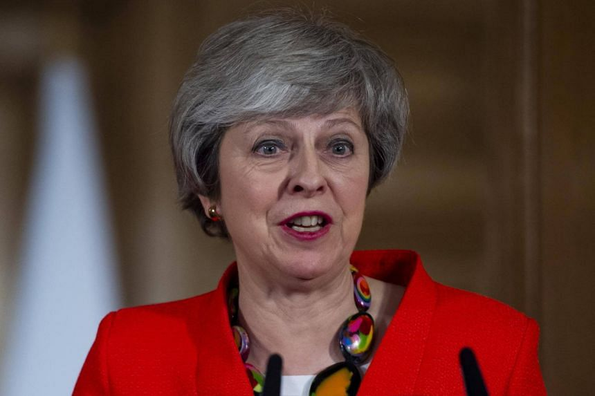 British Prime Minister Theresa May said lawmakers must not let down the people who backed Brexit in a June 2016 referendum.