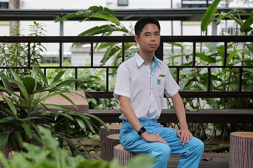 Ryan Lu was diagnosed with profound hearing loss in both ears at birth and had surgery at age two to insert an implant. He failed his exams as a Primary 1 pupil at St Stephen's School when he did not know how to read. He has come a long way since, re
