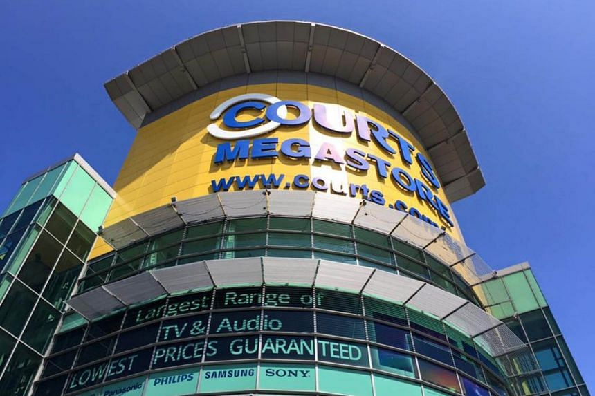 The Courts Megastore in Tampines.