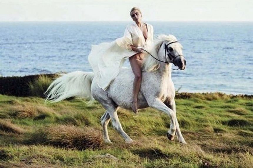 Lady Gaga had posted that she had to rush to see her dying horse after the Critics' Choice Awards.