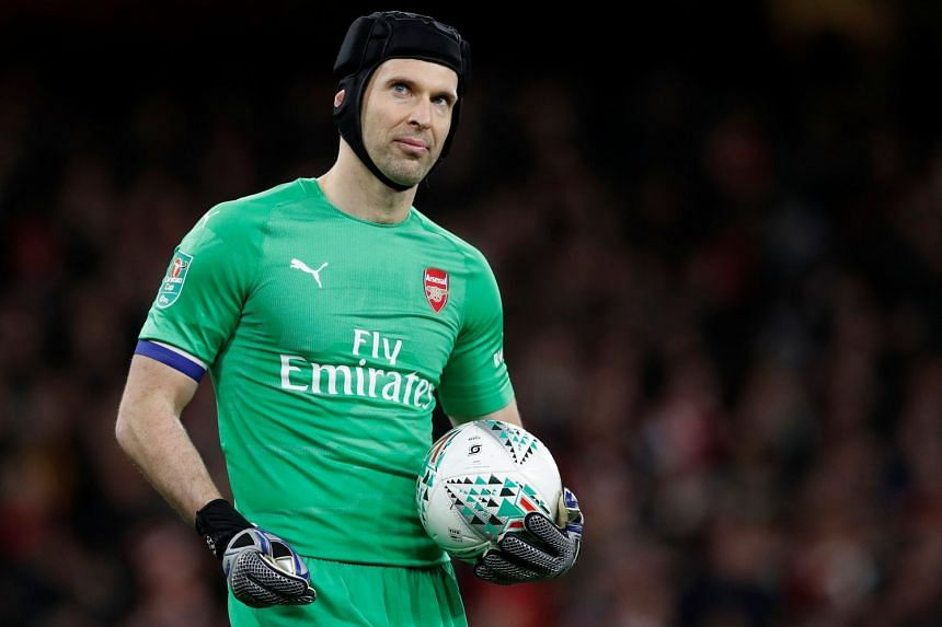 2b00ab950c4 Football: Arsenal's Czech goalkeeper Petr Cech to retire at end of English  Premier League season