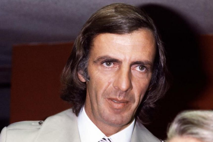 Argentine football coach and team manager Cesar Luis Menotti in a photo taken on March 1, 1978.