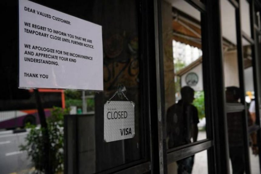 Spize restaurant in River Valley Road, which had its operating licences terminated following a fatal food poisoning incident. The NEA is looking to improve the speed at which the public is notified of food operators' licence suspensions.