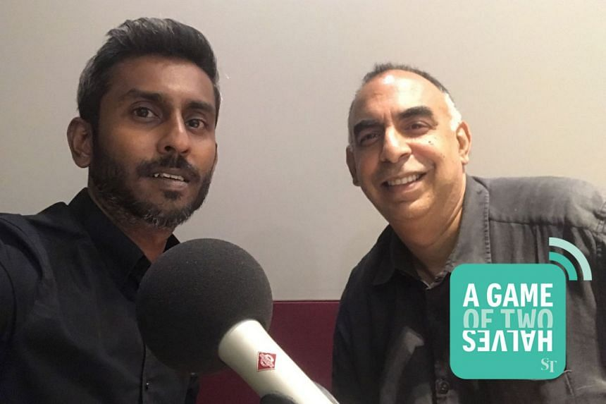 ST Sports' Shamir Osman (left) and Rohit Brijnath discuss the hot topics on local and international sports in our podcast this week.
