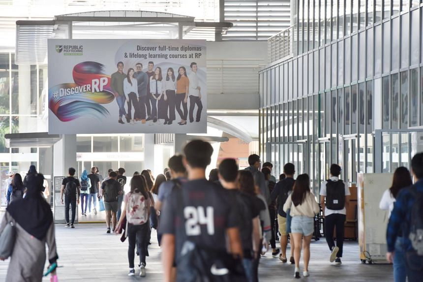 The survey, conducted by the five polytechnics here, also showed that the median monthly salary for graduates who landed full-time jobs rose from $2,235 in 2017 to $2,350 last year.