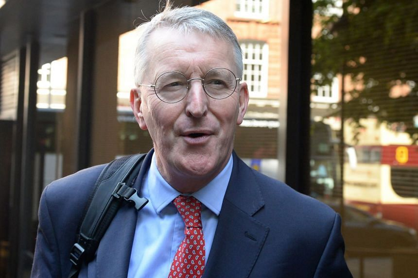 Mr Hilary Benn has proposed a wrecking amendment that calls for the government to reject a no-deal exit.