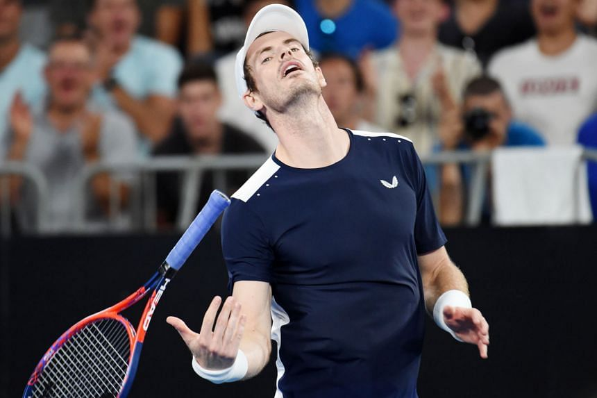 """With his Australian Open campaign ending prematurely yesterday, Andy Murray says he would decide on further surgery that could end his career """"within a week""""."""