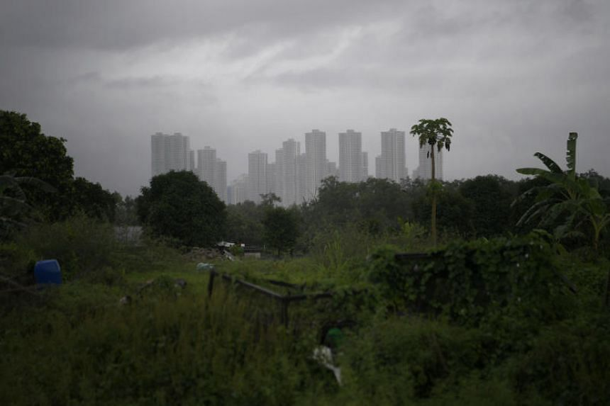 Housing development in Iskandar, Johor, seen from Lim Chu Kang. The postponement of the Singapore-Malaysia bilateral meeting could be a significant blow to Iskandar, as Singapore is the zone's second-largest foreign investor.