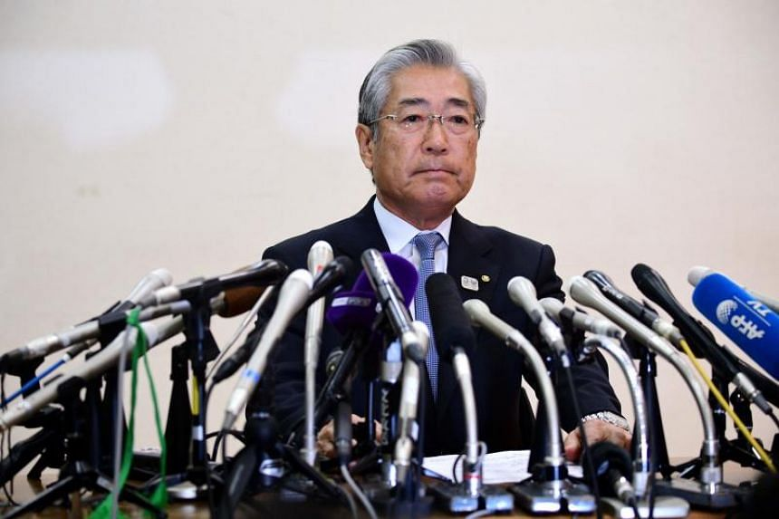 Japanese Olympic Committee President Tsunekazu Takeda attends a press conference in Tokyo on Jan 15, 2019.
