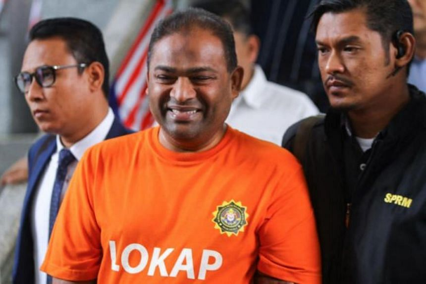 Umno supreme council member Abdul Azeez Abdul Rahim allegedly committed acts of graft at three different banks between Dec 8, 2010, and April 10, 2018.