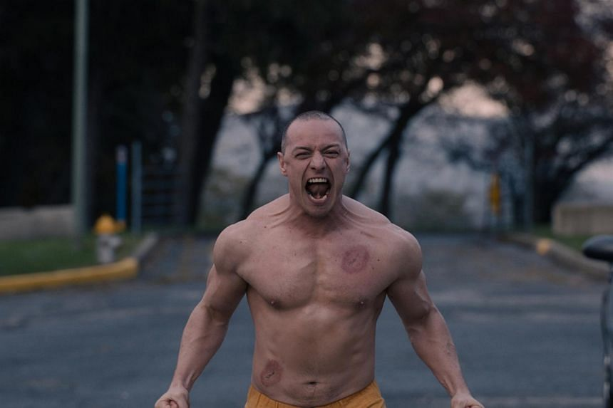 """Kevin """"The Horde"""" Crumb (James McAvoy) is one of three protagonists now imprisoned by the state in a mental institution."""