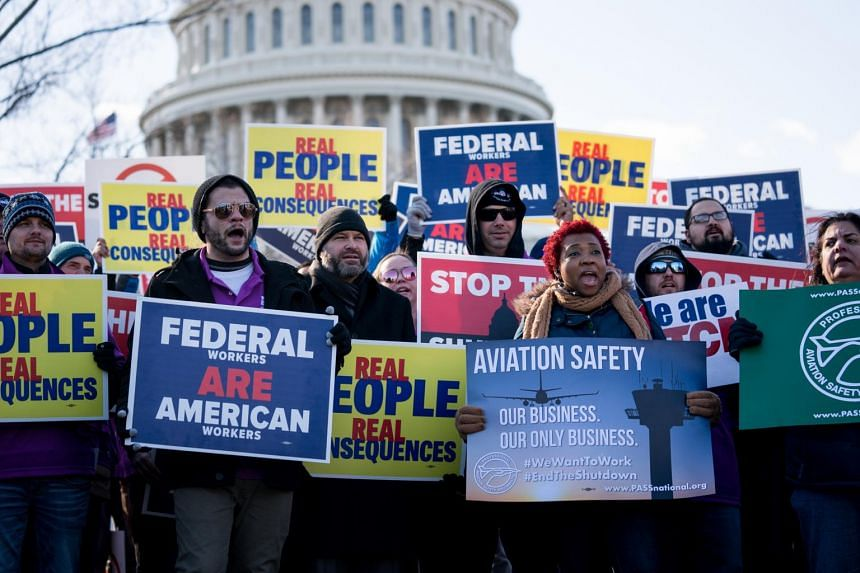 The shutdown has left 800,000 federal employees working without pay, along with throwing thousands of government contractors at least temporarily off the job.