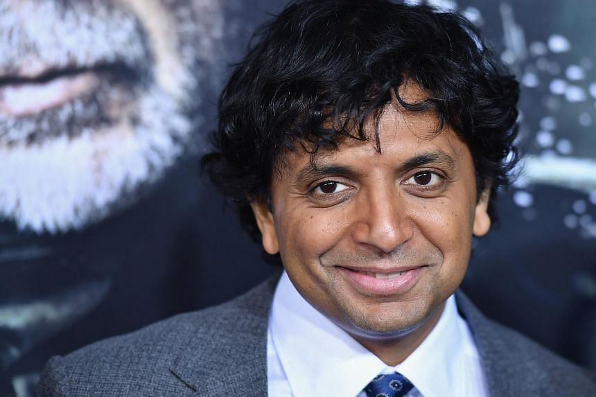 Filmmaker M. Night Shyamalan attends the premiere of Glass at SVA Theatre in New York City on Jan 15, 2019.