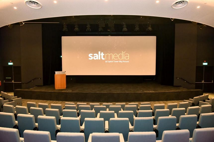 The single-hall outlet Salt Media@Capital Tower is an independent operation and is not part of the major chains.