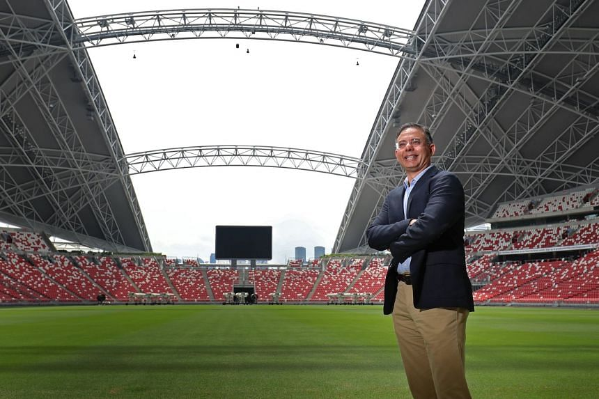 Manu Sawhney, the former Sports Hub CEO who oversaw the first National Day Parade held at the National Stadium, intends to further cricket's popularity both internationally and in Singapore.