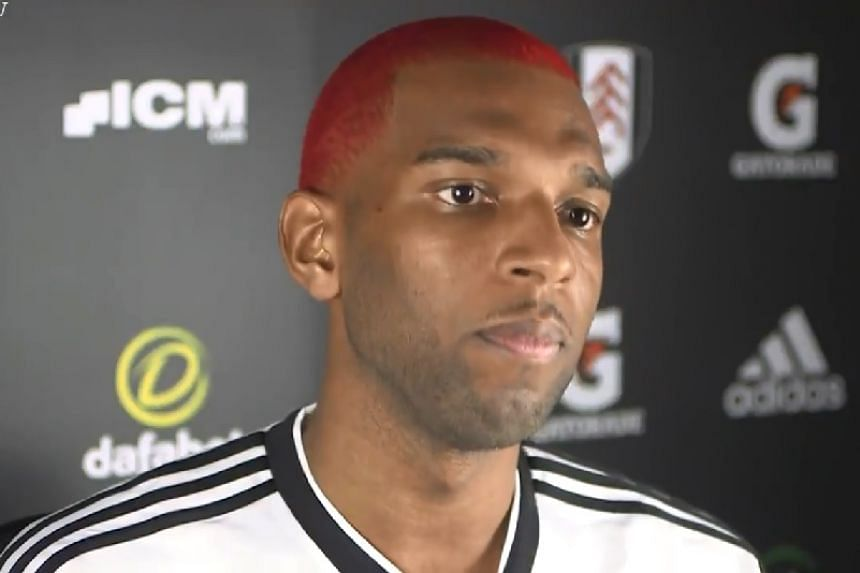 Ryan Babel in a screenshot from an interview he gave to Fulham FC TV.