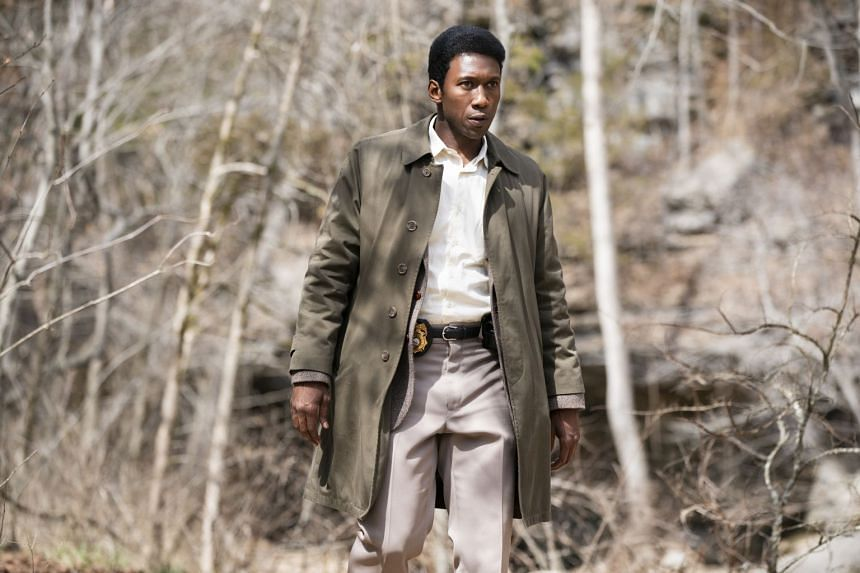 Mahershala Ali plays a police officer investigating the disappearance of two children in True Detective.