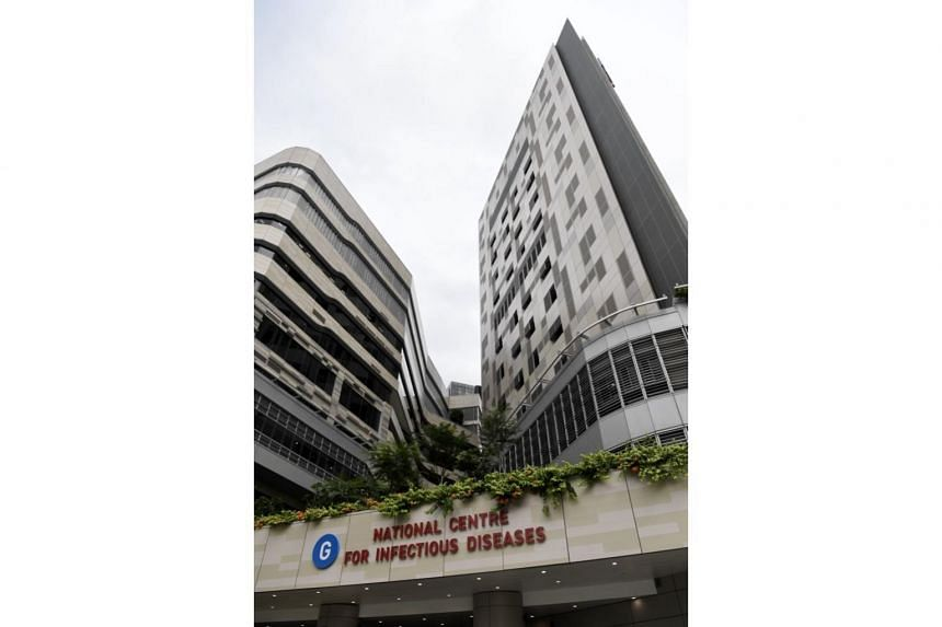The National Centre for Infectious Diseases takes over the functions of Tan Tock Seng Hospital's Communicable Disease Centre, which ceased operations on Dec 13 last year.