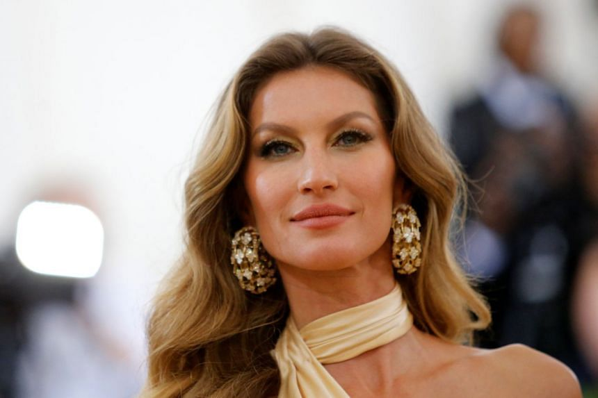 Gisele (above) says deforestation in the Amazon rainforest is on the rise.