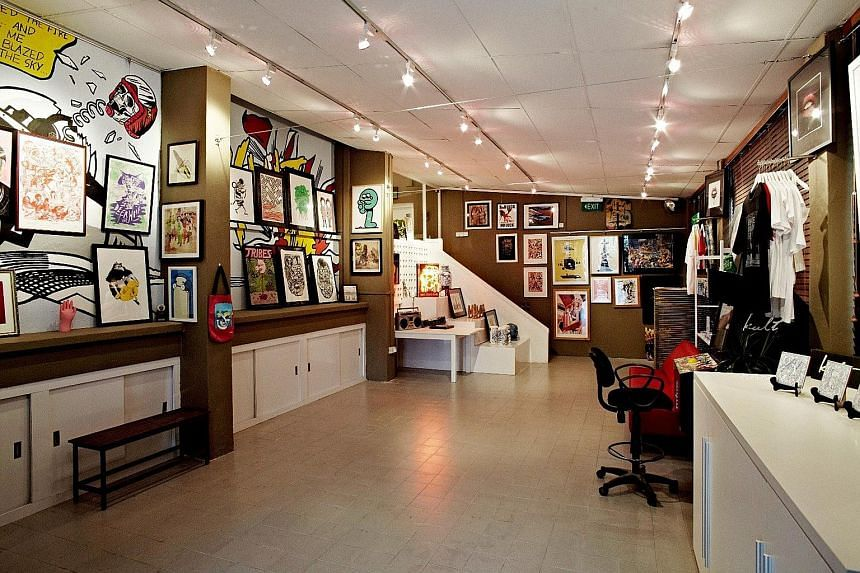 Kult Studio & Gallery is renting space to artists affected by the sudden cancellation of Art Stage Singapore.
