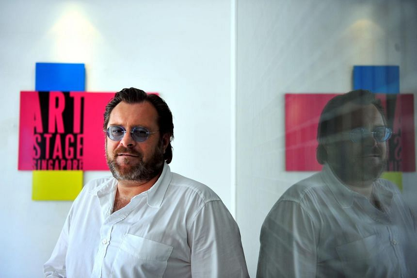 Art Stage Singapore's founder Lorenzo Rudolf  said Art Stage had brought over 500 galleries to Singapore in the last eight years, but more than 450 have not returned due to a lack of local sales.