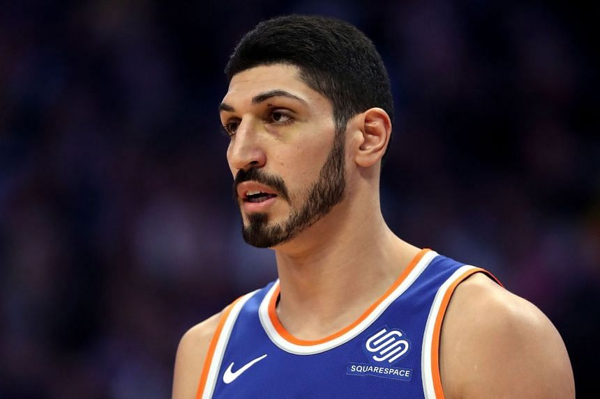 Kanter (above) is aligned with Fethullah Gulen, a Muslim cleric and former Erdogan ally living in exile in rural Pennsylvania.