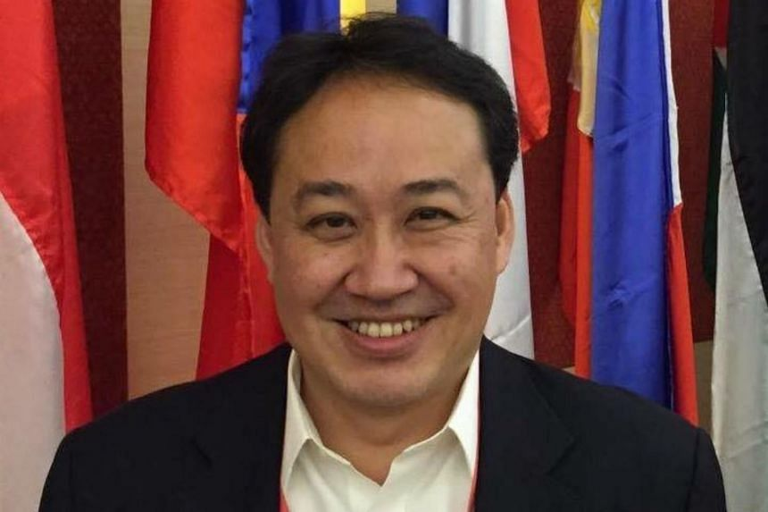 The proceedings arise from a civil suit that Chinese national Huang Min filed against opposition politician and lawyer Lim Tean (above) over a disputed unpaid loan of US$150,000.