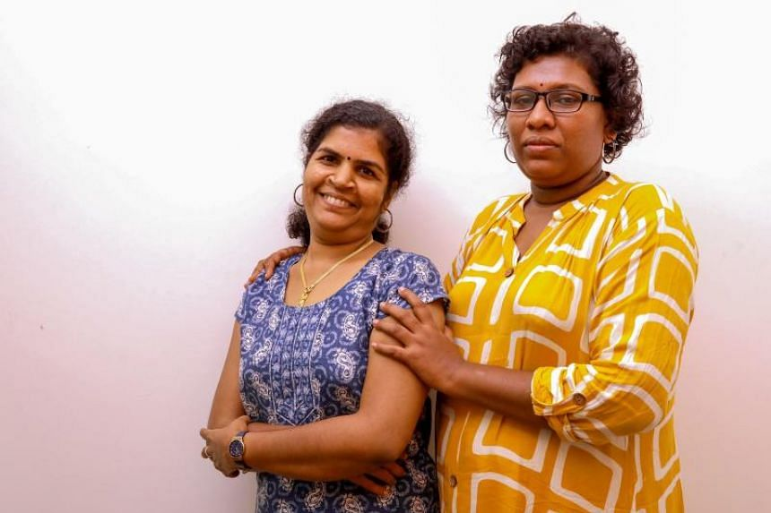 Hindu devotees went on a violent rampage after Ms Kanakadurga (left) and Ms Bindu Ammini entered the Sabarimala temple earlier this month.