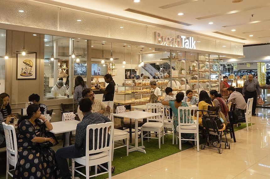 After an unsuccessful attempt in 2006, BreadTalk made a second foray into India last year, focusing on New Delhi and its satellite cities. It partnered India-based conglomerate Som Datt Group. It spent more than a year researching the market and has