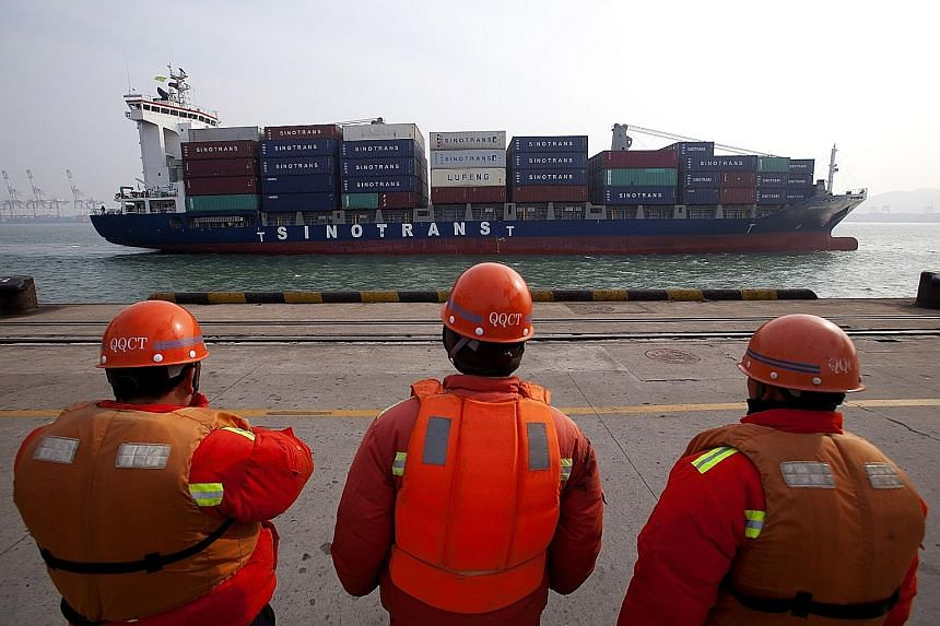 The value of China's exports unexpectedly fell 4.4 per cent last month after expanding at a rapid clip of more than 14 per cent as recently as October, according to Chinese data this week.
