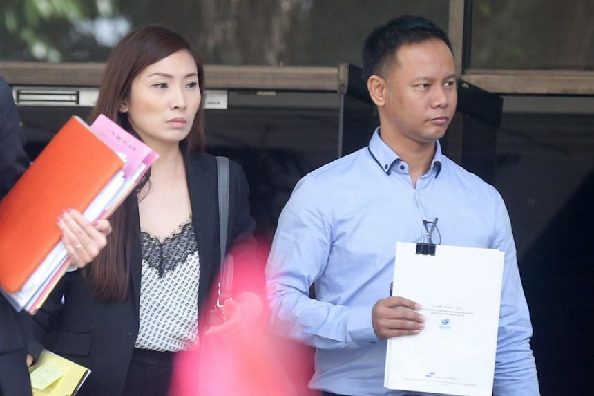 Linda Seah Lei Sie (left) and her husband Lim Toon Leng were found guilty of abusing their maid following a 15-day trial on Jan 18, 2019.
