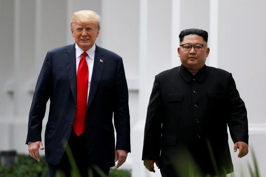 US President Donald Trump has been upbeat about a second round of face-to-face negotiations with North Korean leader Kim Jong Un, despite a lack of measurable progress towards disarmament.