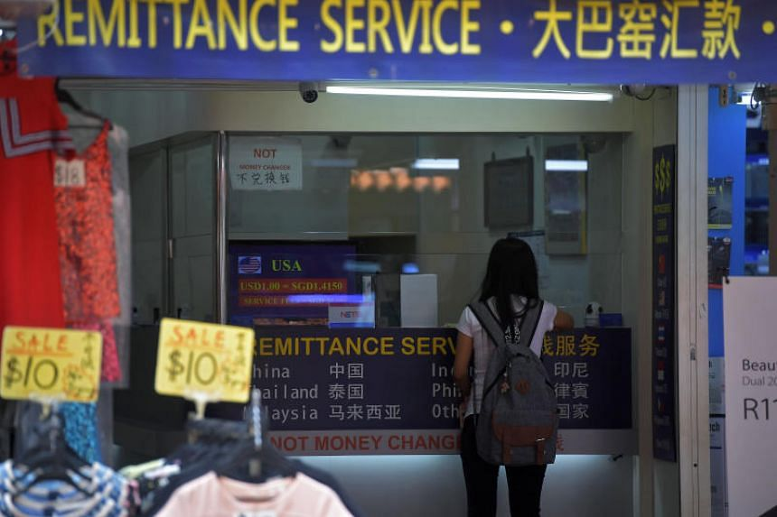 A check with the Monetary Authority of Singapore revealed that it is not their intent to allow companies issued a licence for remittance business to conduct consumer lending.