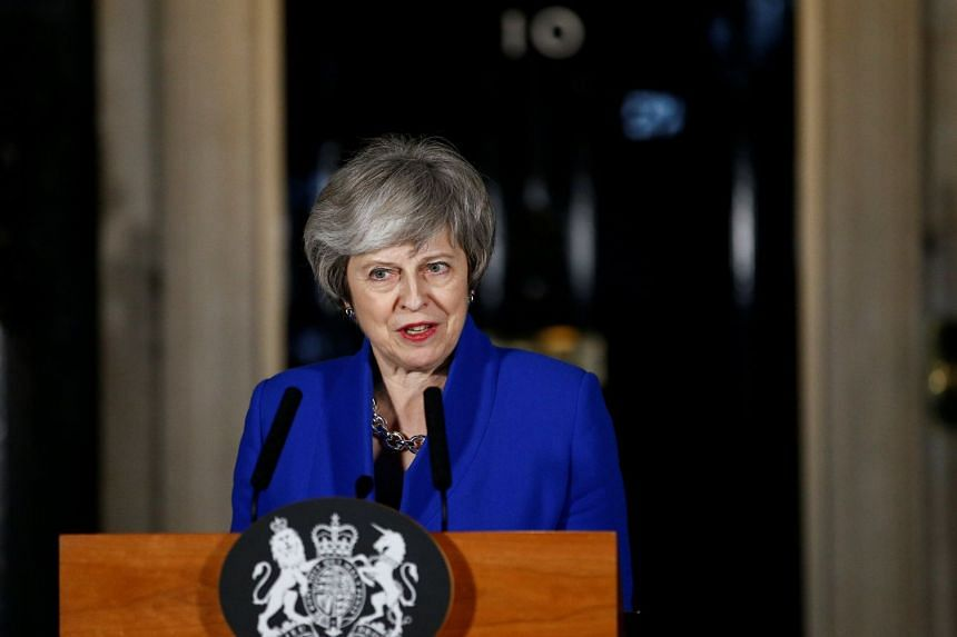 Mrs Theresa May asked party leaders to forget self-interest to find a solution.