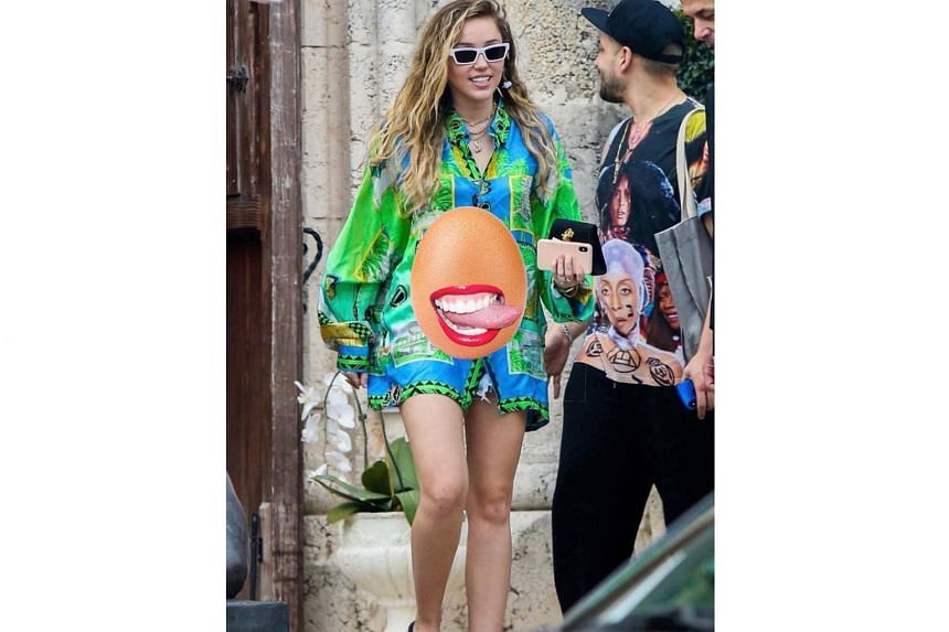 """NOT PREGNANT: Miley Cyrus is practising """"birth control"""" by dousing rumours that she is pregnant. """"I'm not 'egg-xpecting' but it's 'egg-celent' to hear everyone is so 'happy for us'... we're happy for us too,"""" the singer tweeted. """"Egg-cited for this"""
