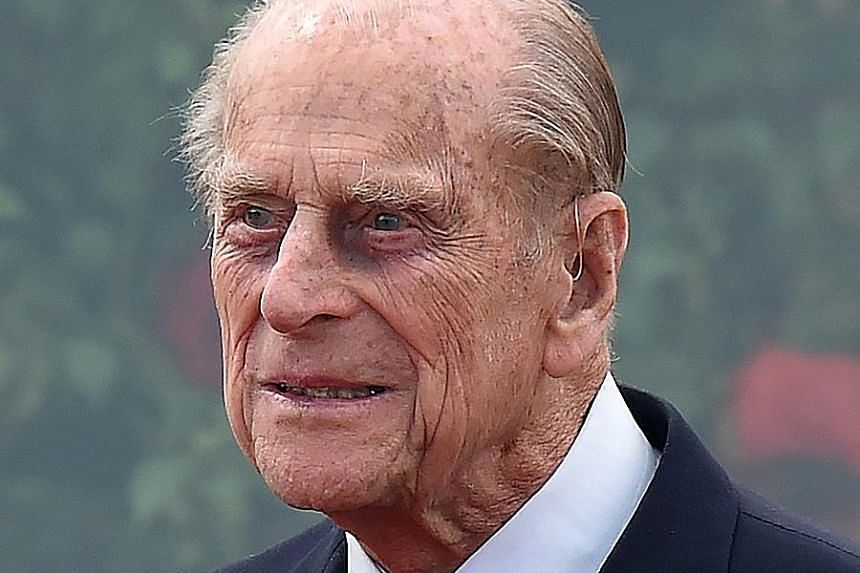 Year Old Duke of Edinburgh Crashes His Land Rover In The UK