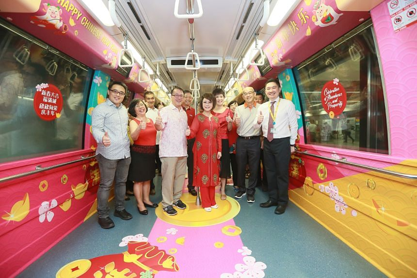 Jalan Besar GRC grassroots organisation advisor and Member of Parliament Lily Neo hopped on a themed train from HarbourFront station to Outram Park to mark the start of the initiative.