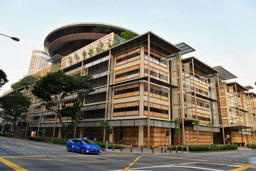 A file photo of the Supreme Court of Singapore. In a case involving two Singapore-based solar power companies, the Court of Appeal held there are two categories of patent revocation cases - one of which can be heard in the High Court.