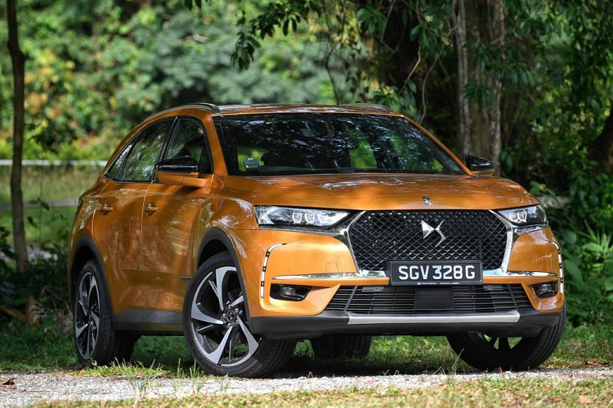 Citroen's latest mid-sized DS7 Crossback is a lot of car for the