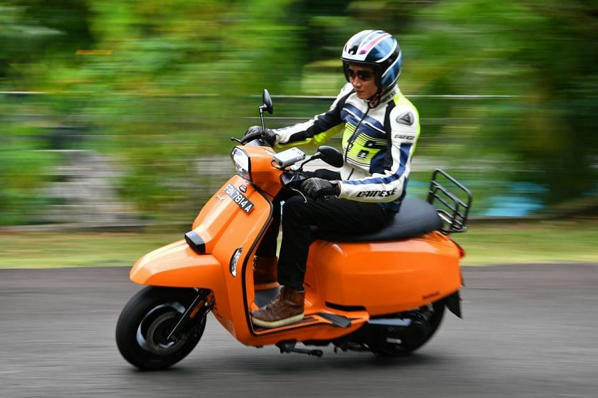 The 169cc, four-stroke V200 resembles the first two-stroke scooters which Lambretta rolled out seven decades ago.