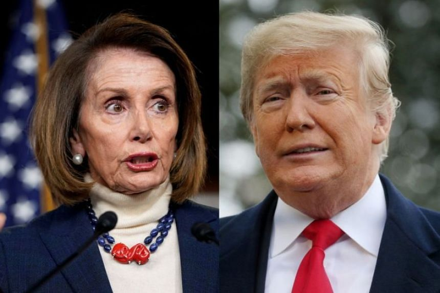 Image result for Trump vs Pelosi