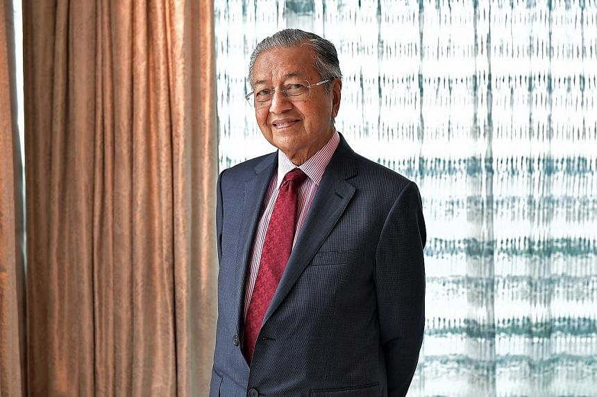 Mr Darrion Mohan, a second-year Singapore student at Oxford University, had some pointed questions for Malaysian Prime Minister Mahathir Mohamad last Friday.