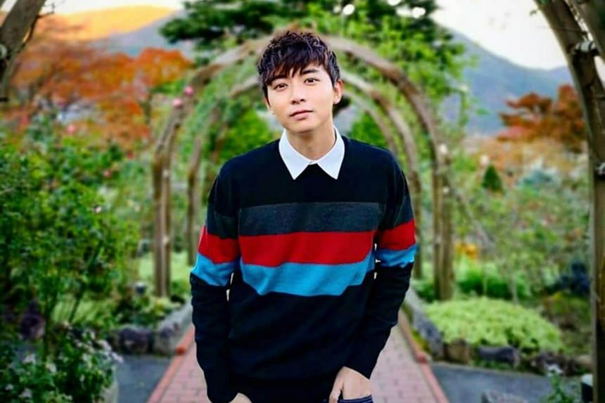 Actor Aloysius Pang was seriously injured during an overseas military exercise in New Zealand.