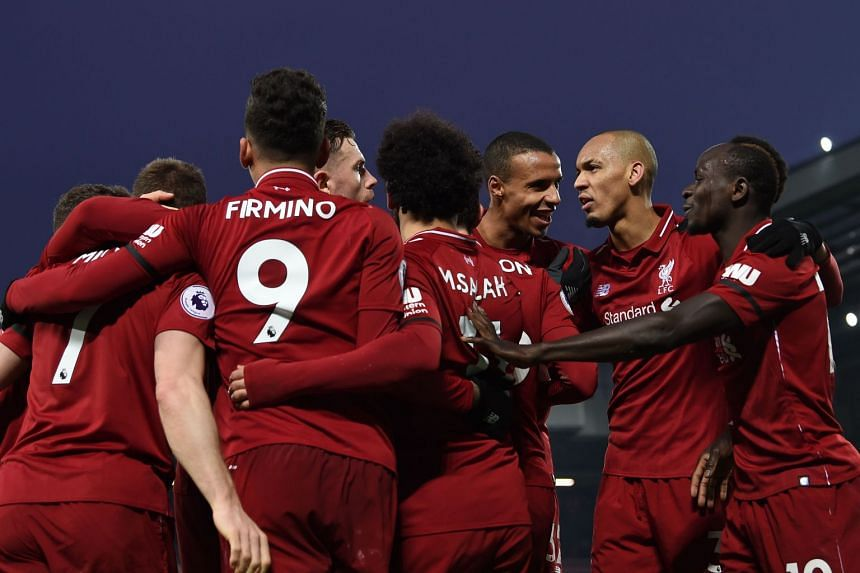 new product 438b2 b6ea6 Football: Salah fires Liverpool seven points clear, Arsenal ...