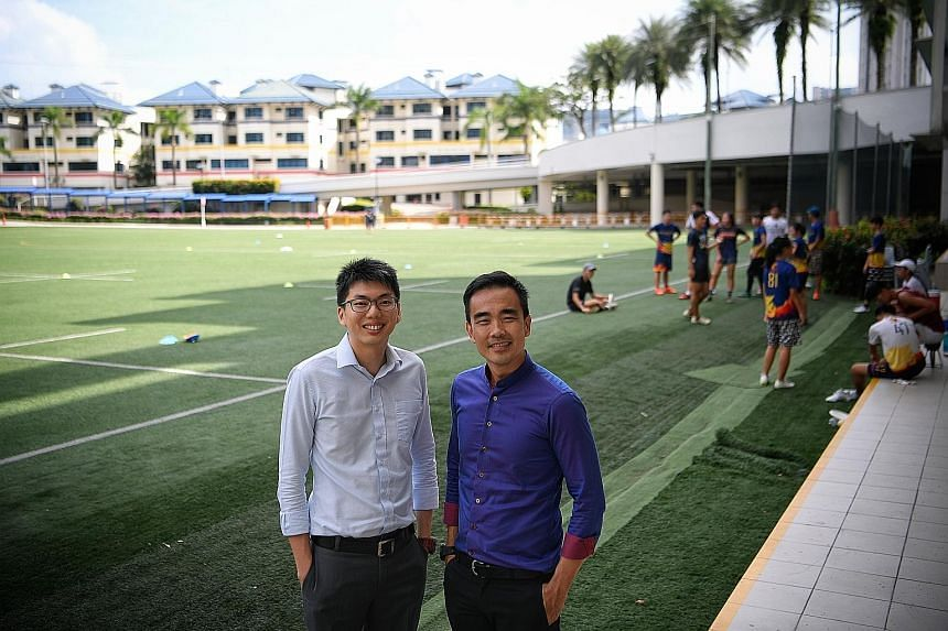 """Mr Tan Aik Wen, one of Anglo-Chinese School (Independent)'s 27 perfect scorers in 2017: """"To do well in such a system, I tried to pace myself. This meant not studying excessively hard and burning out early, which many IB students are prone to do, give"""