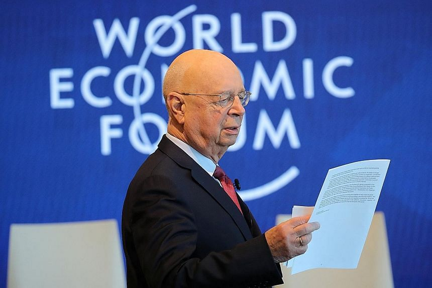 WEF founder Klaus Schwab has said he wanted to build an organisation that would make the world a better place.